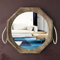 3D garrett wall mirror