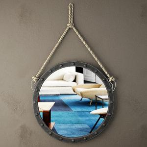 3D harper wall mirror