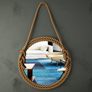 3D rope mirror
