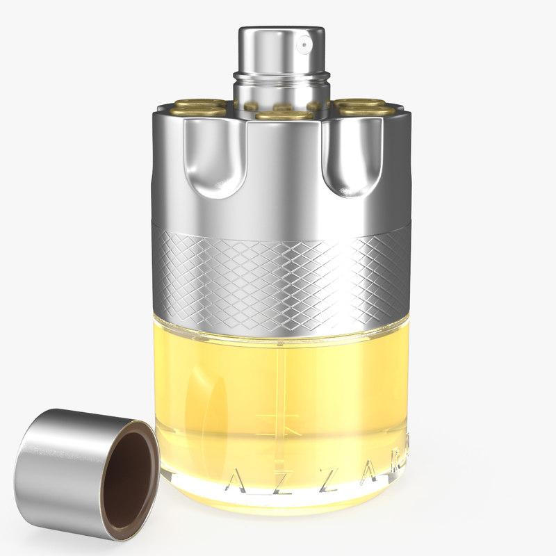 3D perfume azzaro