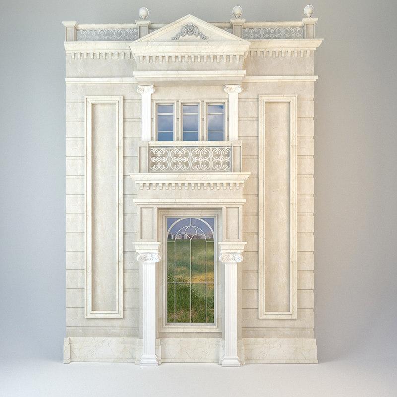 classic element 3D model