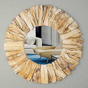 driftwood mirror 3D model