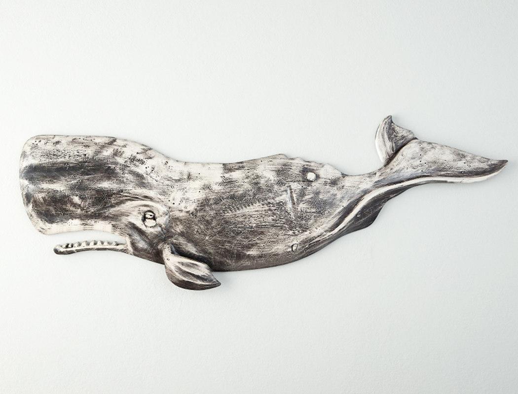 3D whale decoration sunny