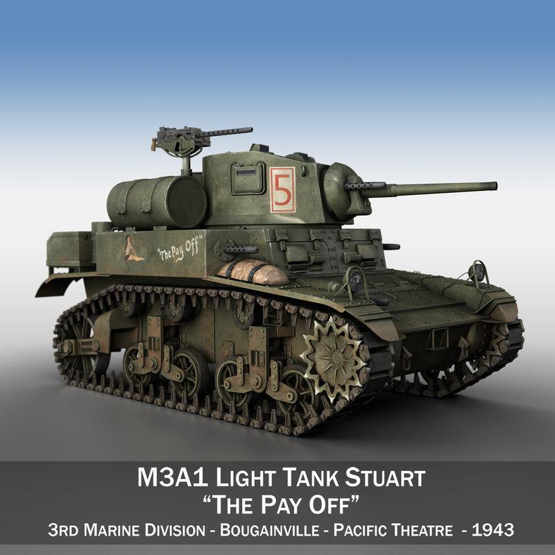 3D light tank -