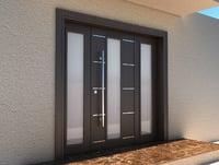 exterior & interior modern door