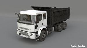 car tipper 3D model
