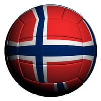 Volleyball ball Norway