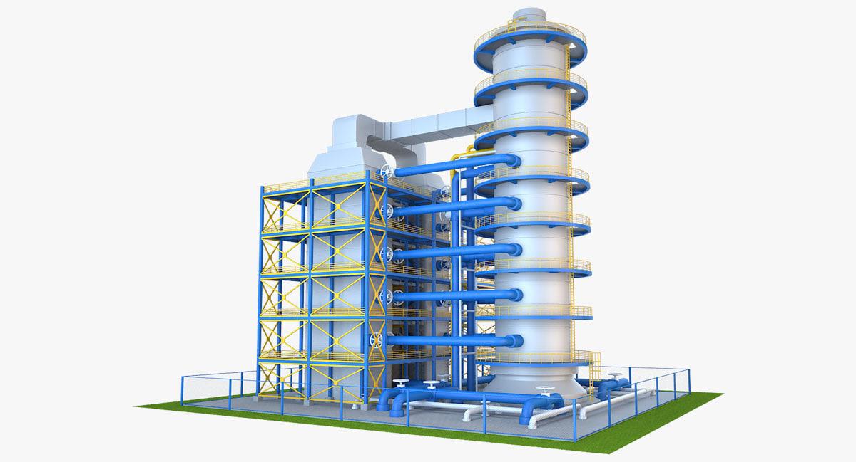 industrial equipment model