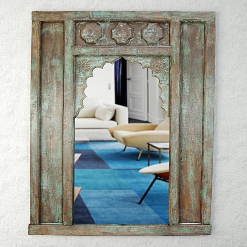 19th-c turkish mirror 3D model