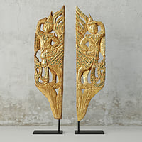 pair burmese mandalay gilded 3D model