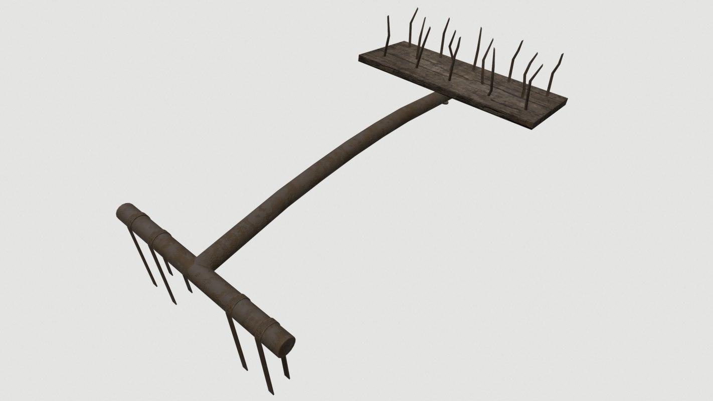 spike trap 3D model