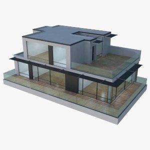3D model modern house interior 17