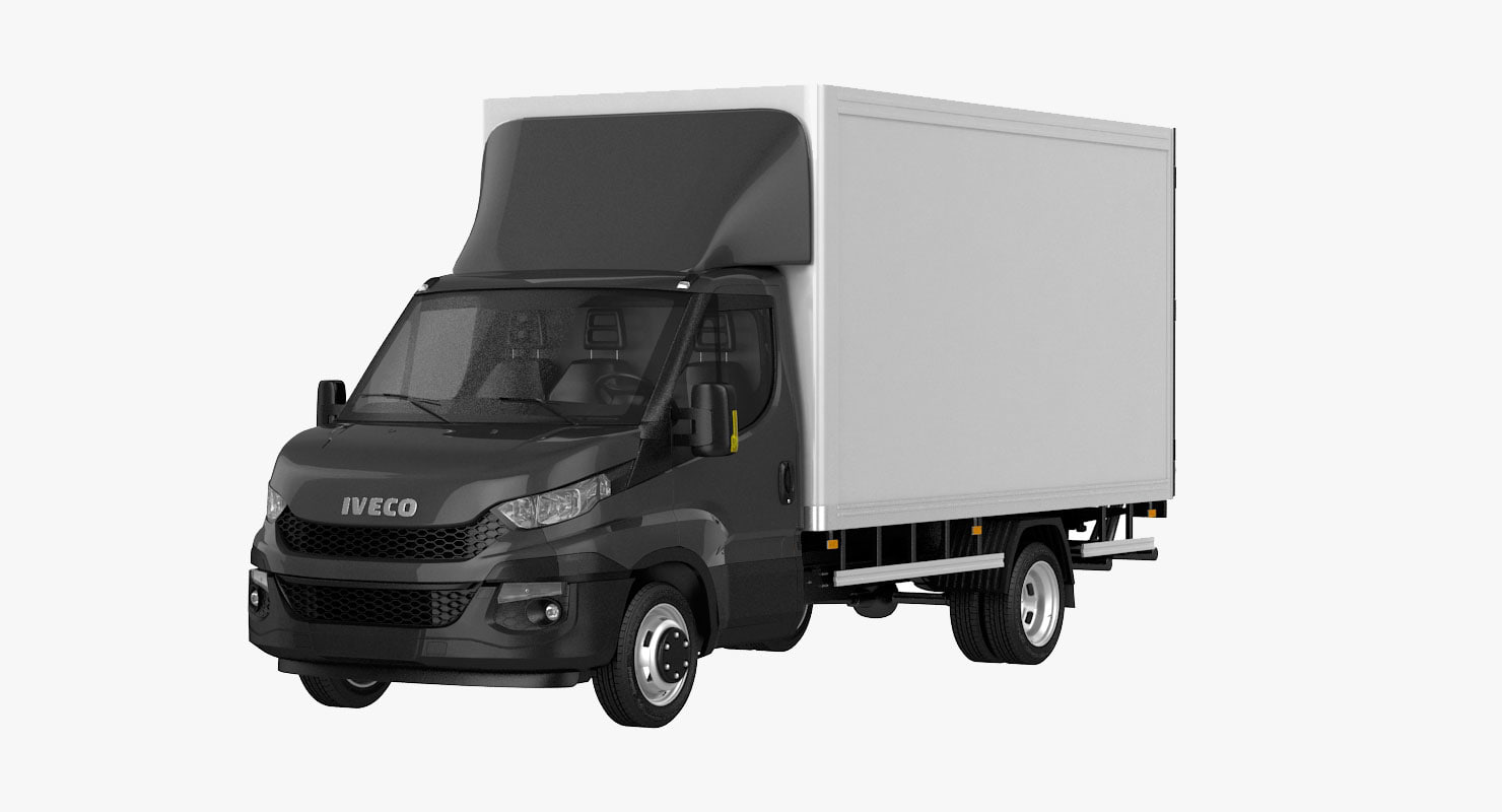 iveco daily 2017 lift 3D model