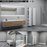 bathroom furniture set panta model