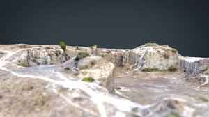 realistic quarry 3D model