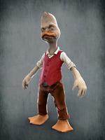 3D howard duck model