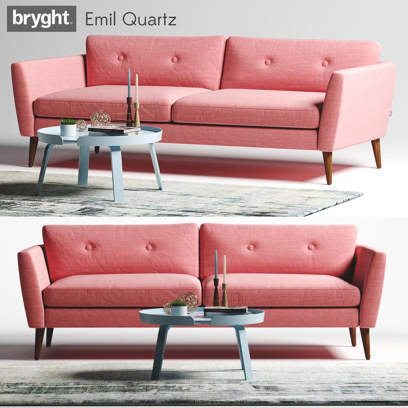 Article bryght emil quartz 3D model - TurboSquid 1201091