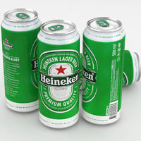 Beer Can Heineken 500ml 2017