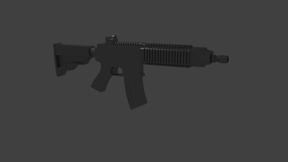 m416 s customizable 3D