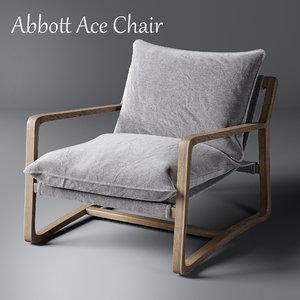 abbott ace chair 3D model