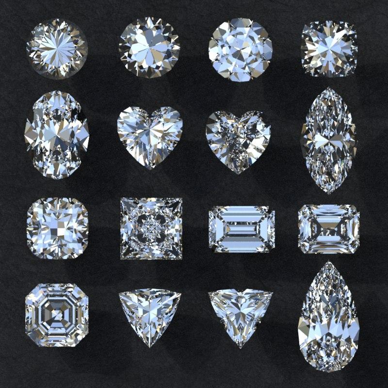 diamond 3D
