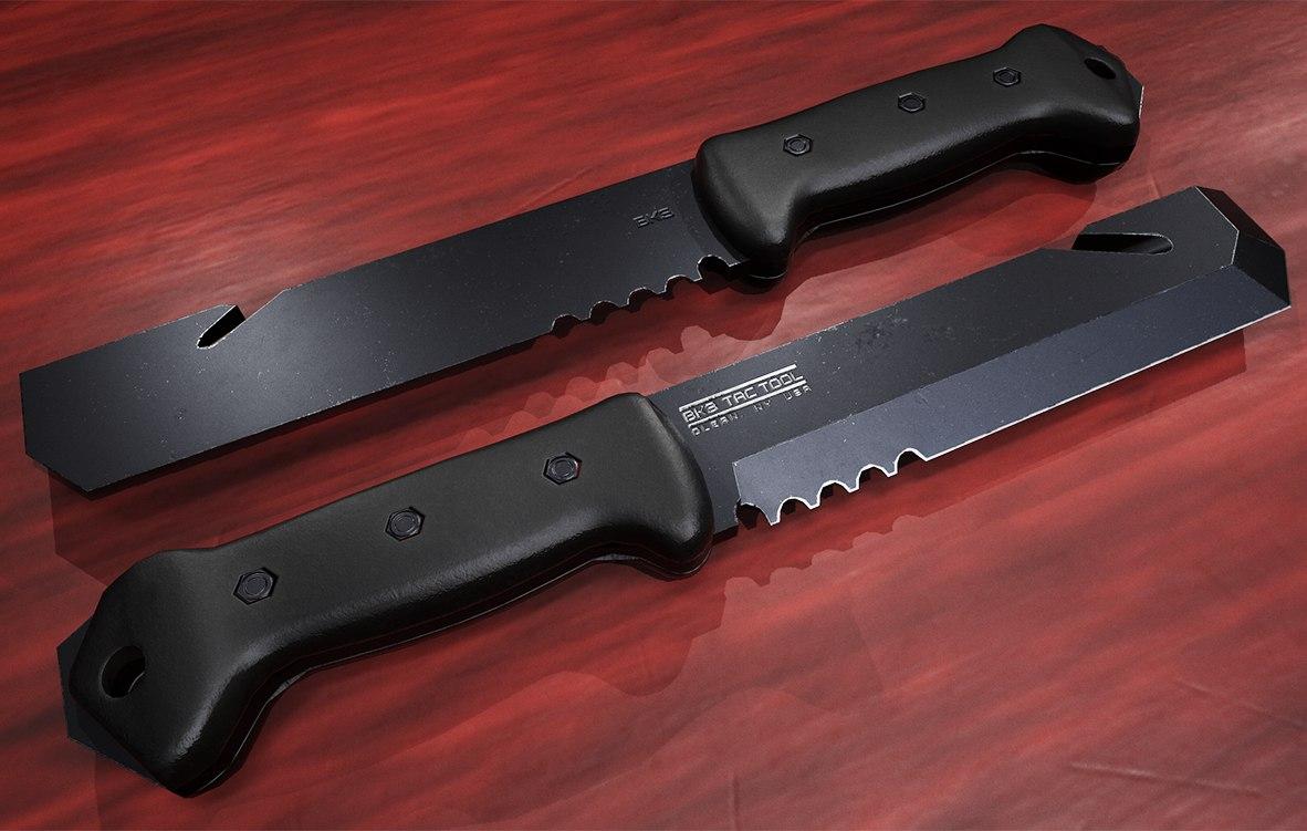 3D tac tool knife model