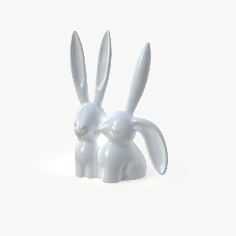 bunny rabbit 3D
