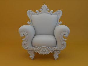 pop armchair 3D model
