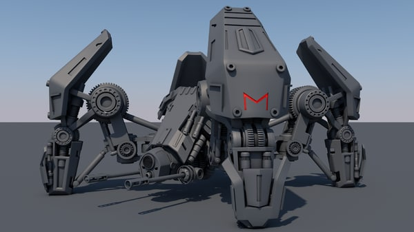 robot spider model