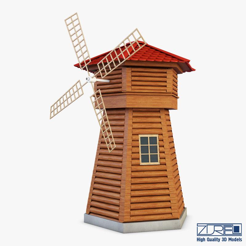 3D windmill v 1