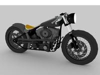 harley davidson 3D model