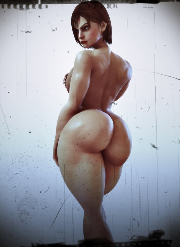 valentine nude muscle model