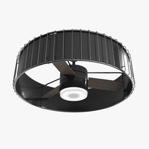 3D model ceiling fan - hanter