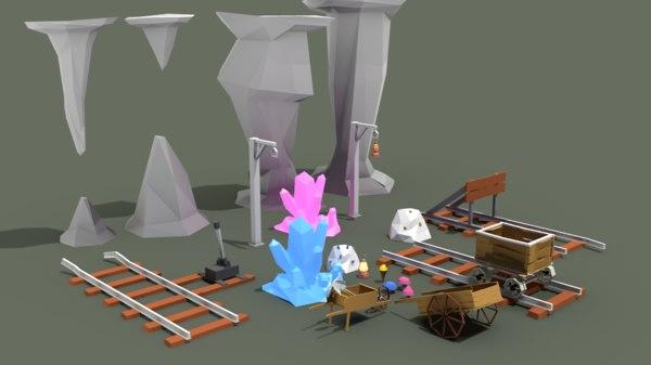 3D mining pack