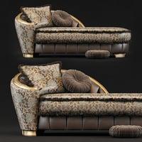 goldconfort chaise 3D model