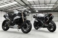 motorcycle triumph speed triple 3D model