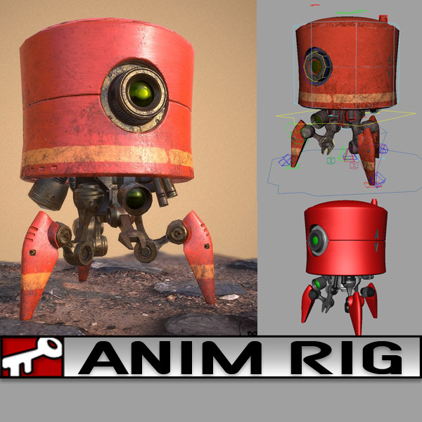 rig 2014 animation 3D