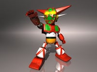 Getter Robot One - Super Deformed version