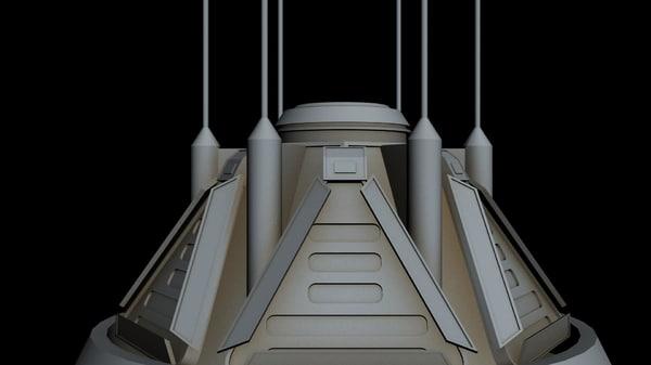 starship star 3D