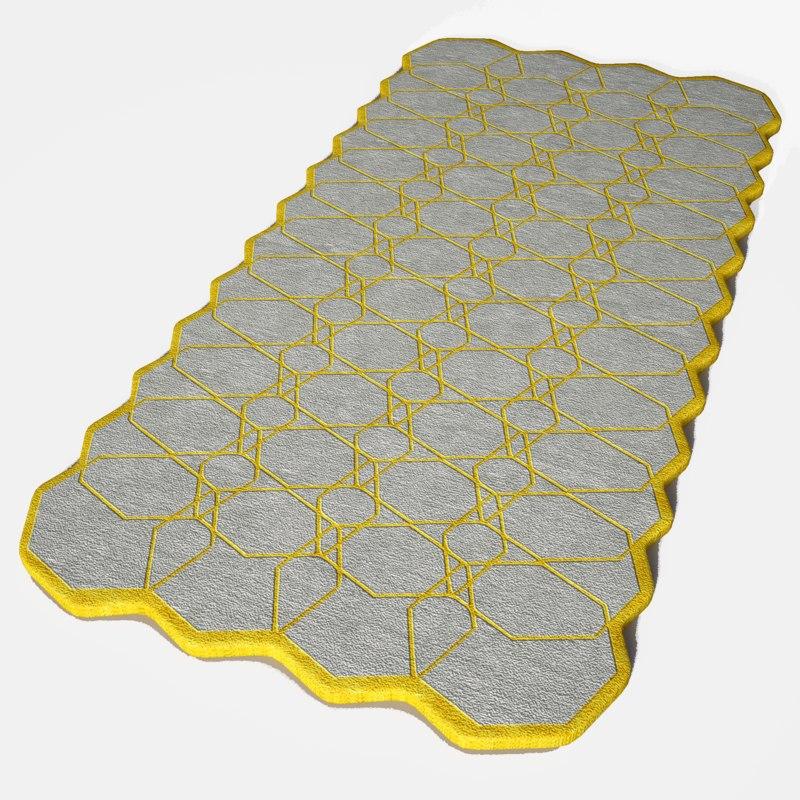 neil rug 3D model