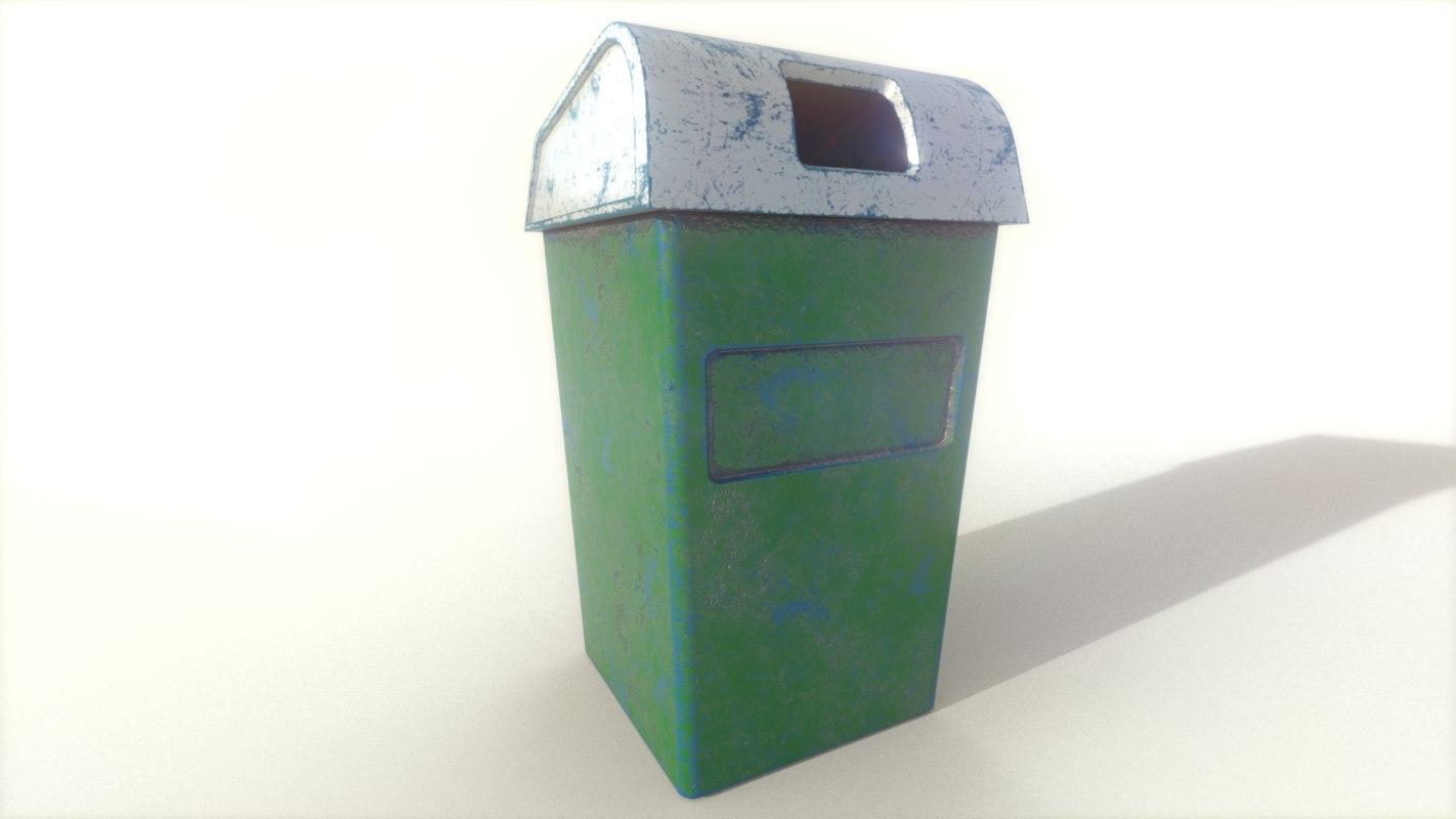 3D dust bin