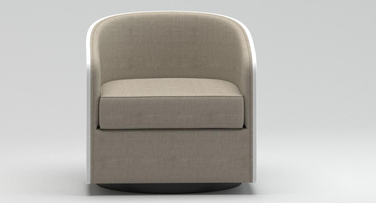usona furniture. 3D Usona Home Coque Swivel Chair Furniture