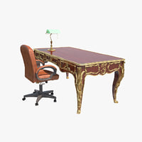 3D model classic office table