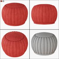 pouf mellow 3D