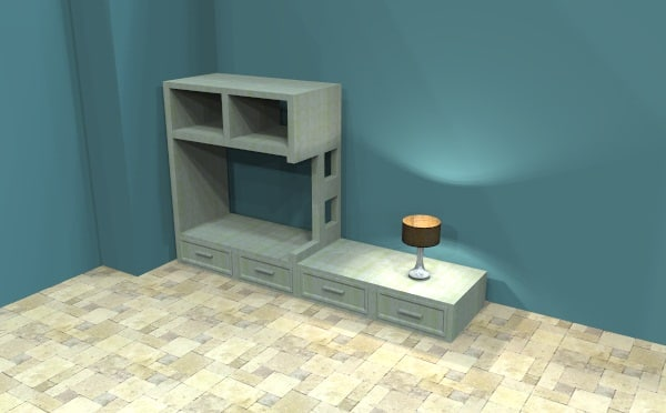 3D forniture model