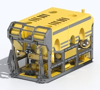3D model operated underwater vehicle