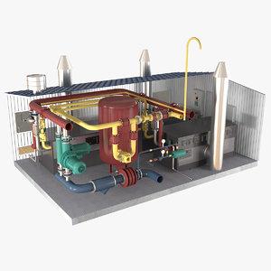 boiler room model