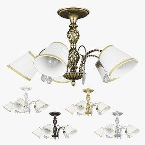 chandelier 682056 white 796051 3D model