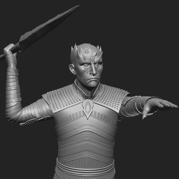 king 3D model
