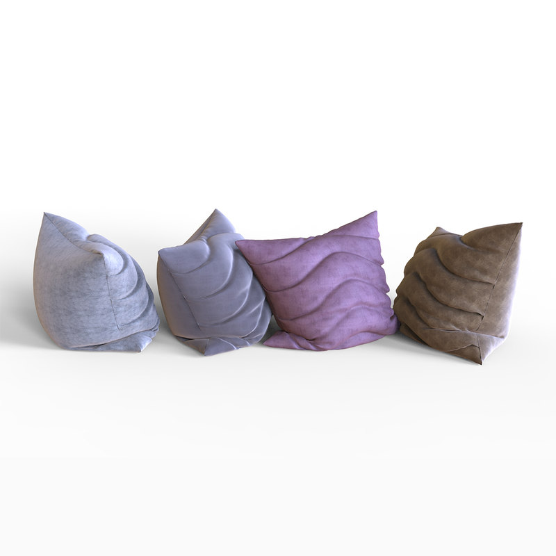 3D pillows